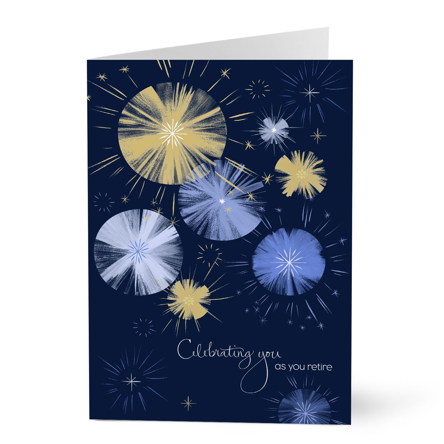 Hallmark Retirement Cards (Retirement Fireworks) (Pack of 25 Greeting Cards for Business)