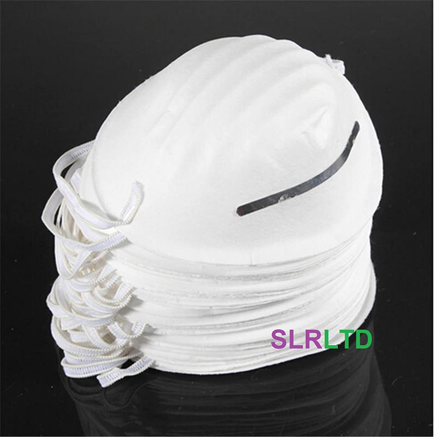 50 x DISPOSABLE NUISANCE DUST FACE MASKS - FREE DELIVERY SLR LTD
