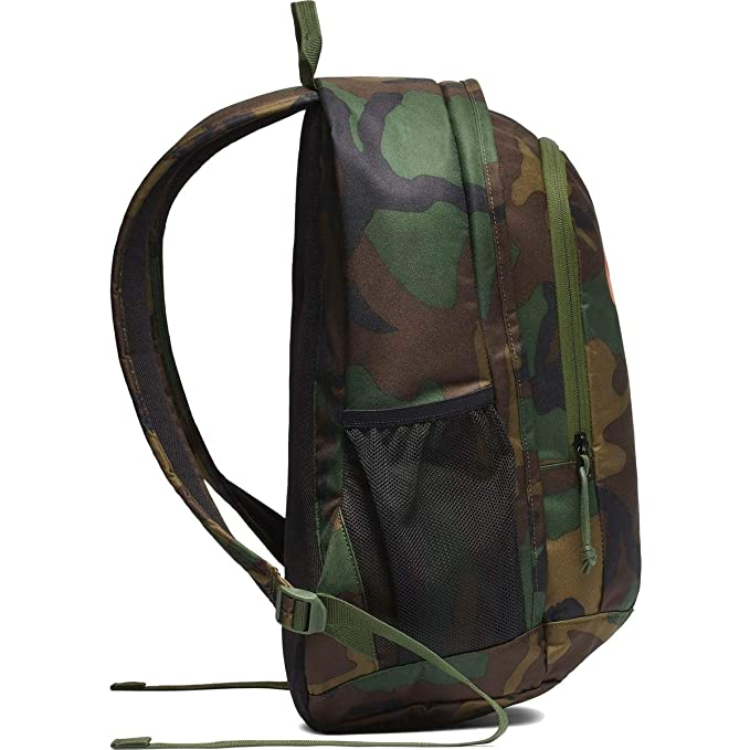 Nike Air Hayward Futura NK Backpack CamoOrange Black CK0955 210