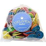 Deliver Kosher Bulk Candy - Assorted Spiral Licorice - 1lb Bag
