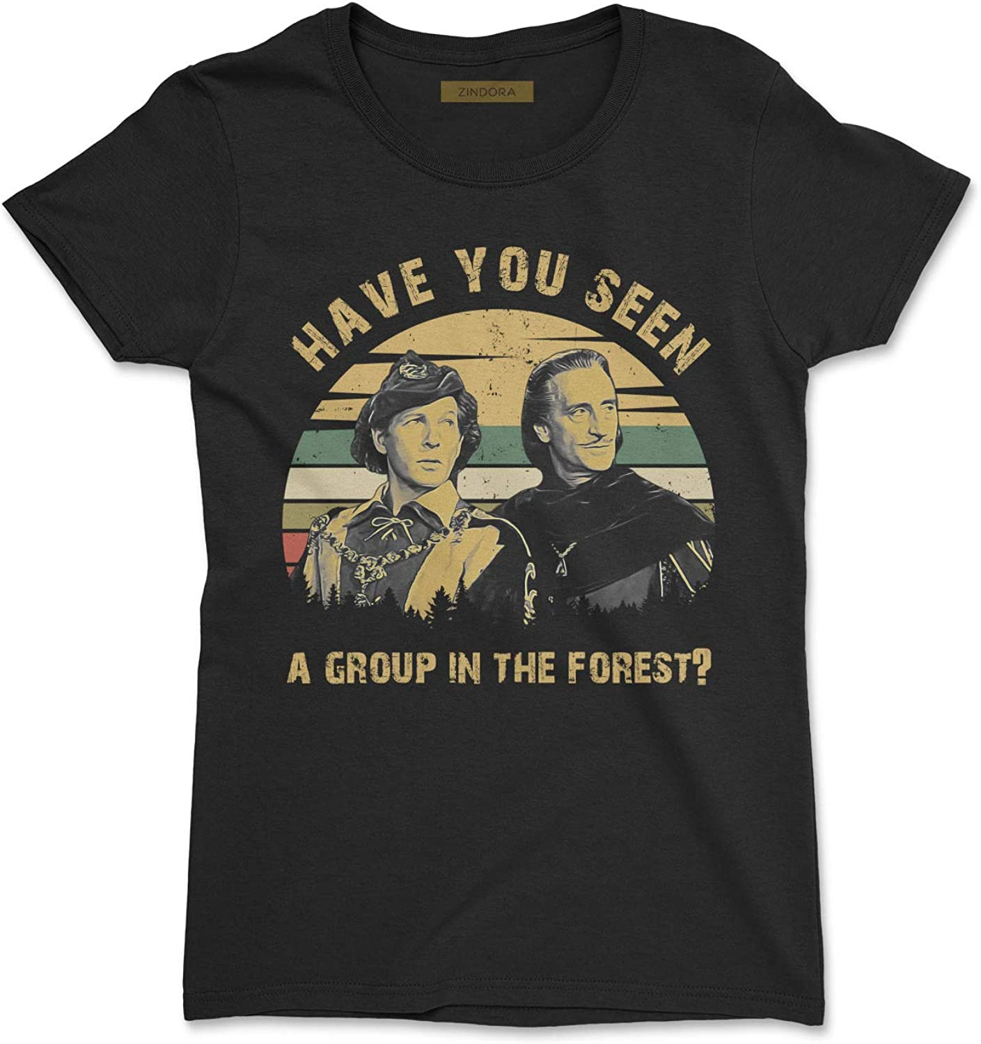 Have You Seen A Group in The Forest Vintage T-Shirt