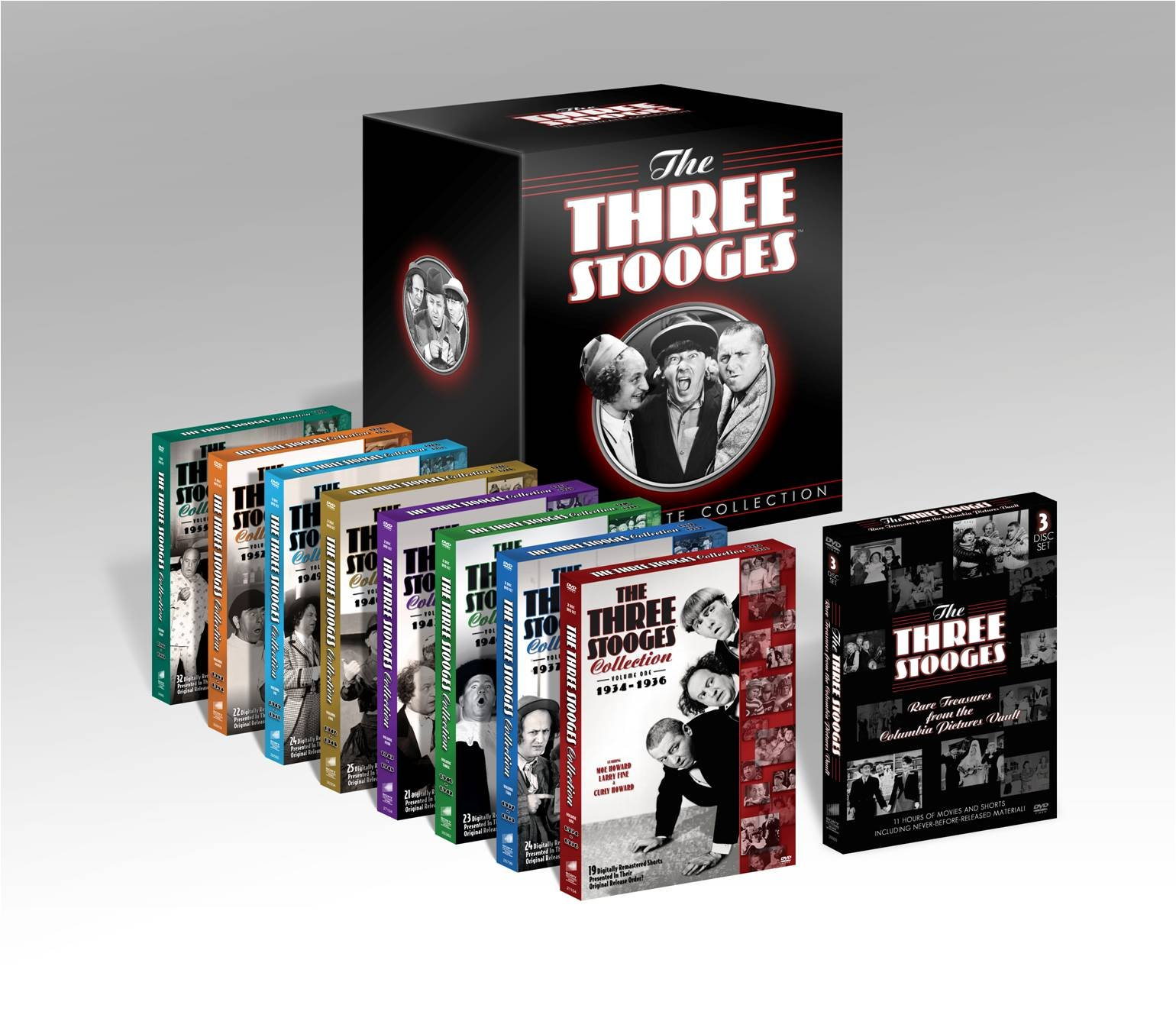 The Three Stooges: The Ultimate Collection by Columbia Tri Star