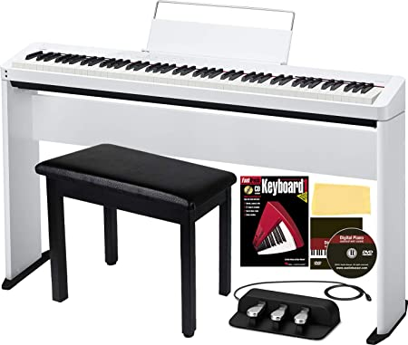 Casio Privia PX-S1000 Piano digital de 88 teclas, paquete ...