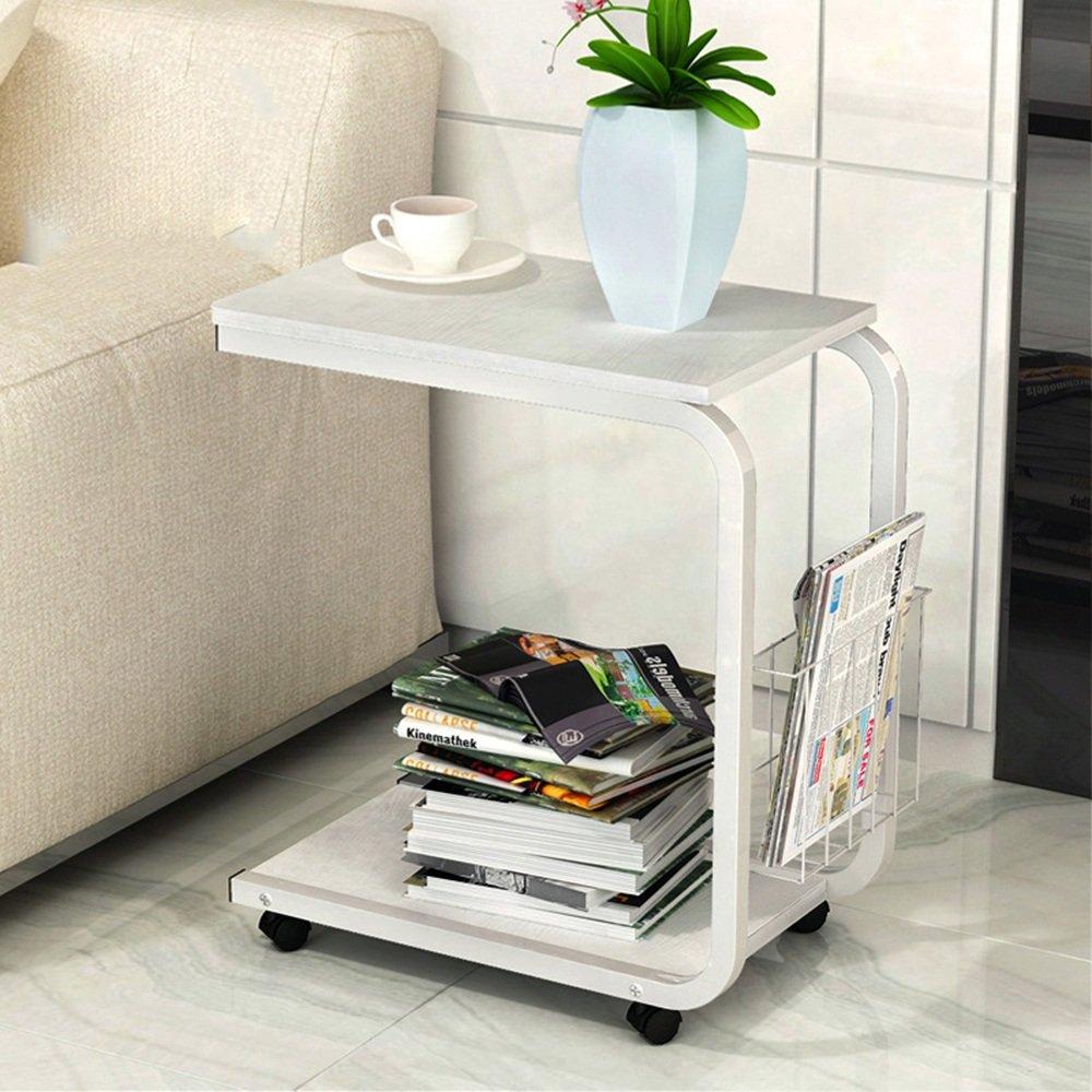 FEIFEI モバイルコーヒーテーブルシンプルでモダンなミニソファキャビネットのベッドサイドテーブル51 * 30 * 56CM ( 色 : 06 ) B07CKTVD2R 6 6