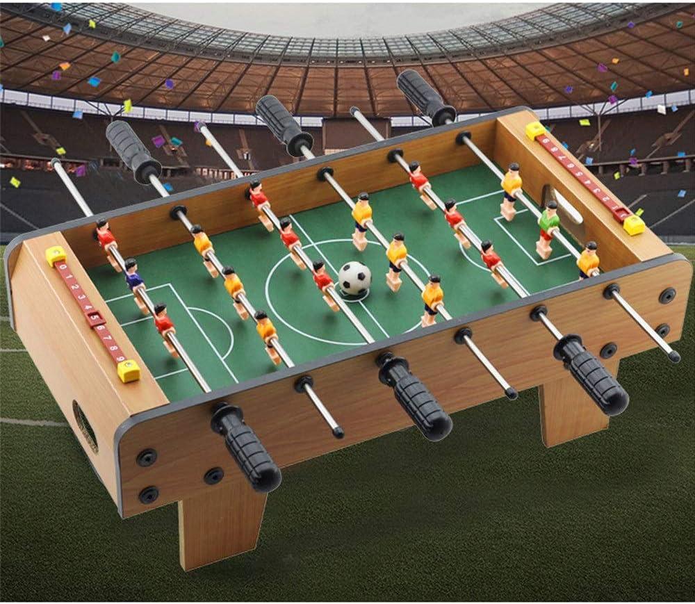 Mesa de juego combo estable Foosball Soccer Competition Juego de mesa Conjunto de juegos en la sala de juegos Deportes con manijas ergonómicas Puntaje analógico y niveladores de pierna Juegos de mesa: