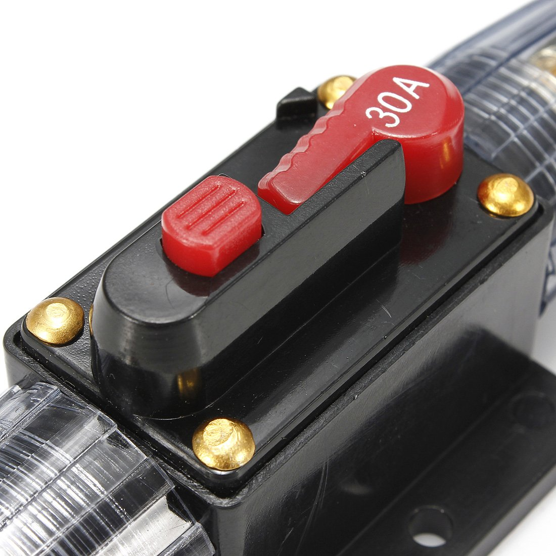 Amazon.com: 12V DC 30A Car Audio Circuit Breaker Inline Fuse for 12V System  Protection 30AMP: Automotive