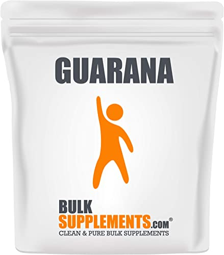 Bulksupplements Guarana Extract 22 Caffeine 250 Grams