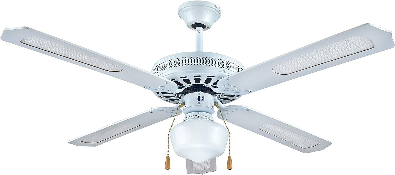Ventilador DE Techo INFINITON 130CM (VT-130B-MANUAL): Amazon.es: Hogar