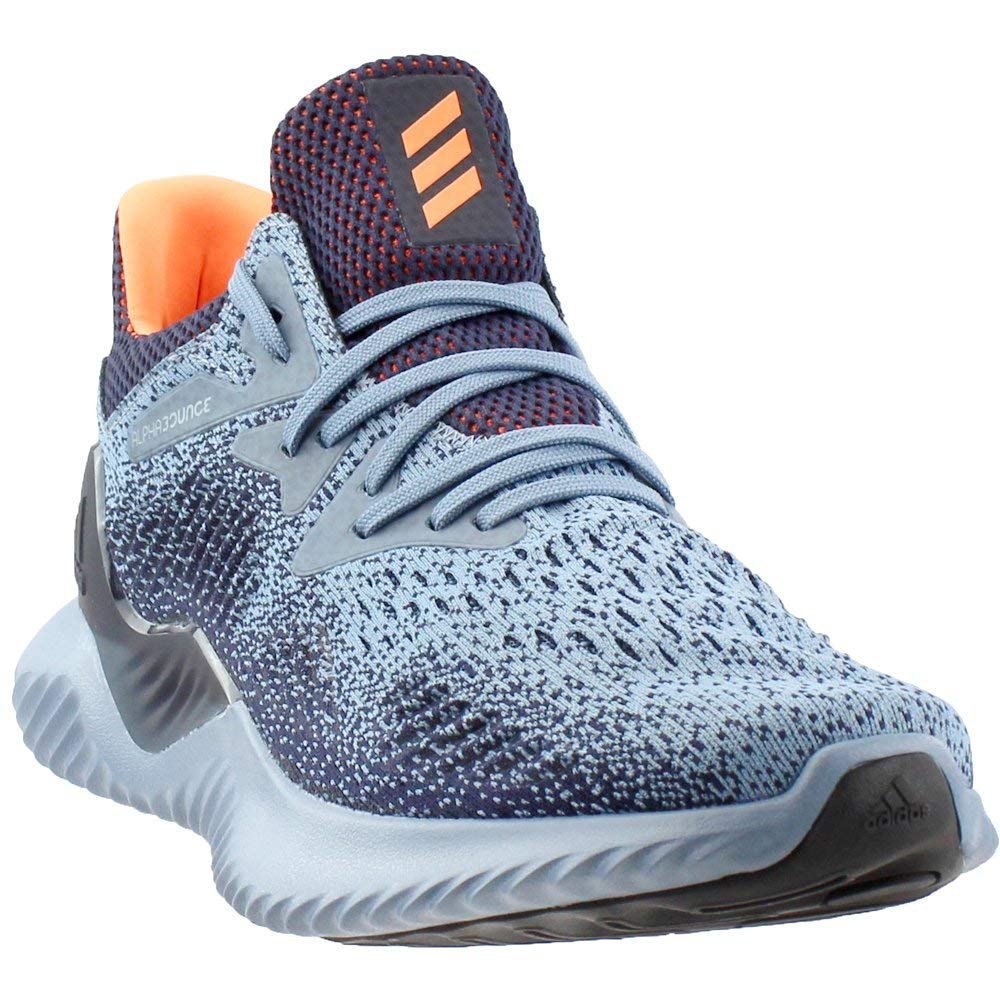 brand new 79f72 9761f adidas Running Mens Alphabounce Beyond Raw GreyHi-Res OrangeLegend Ink  10.5 D US