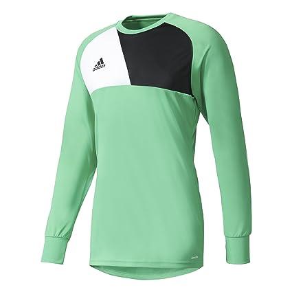 b56f210b3f0 Amazon.com : adidas ASSITA 17 Long Sleeve Goalkeeper Jersey Energy ...