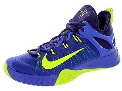 Nike Men s Zoom Hyperrev 2015 Basketball Shoe Persian Violet/Volt Ink 10.5  D(