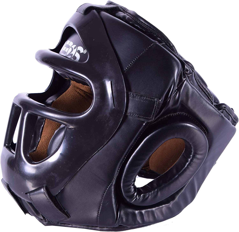 Ofbos/® MMA Martial Arts Muay Thai Kick Boxing Head Guard Sparring Helmet
