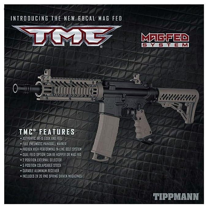 Amazon Com Tippmann Tmc Magfed Sergeant Paintball Gun Package