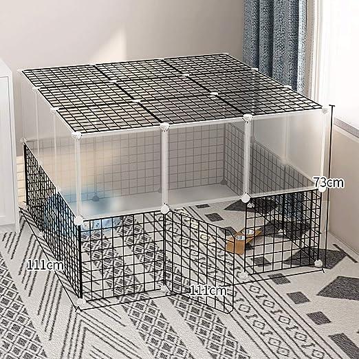 AIAIⓇ Jaula de Corral para Animales pequeños Perrera para Perro ...