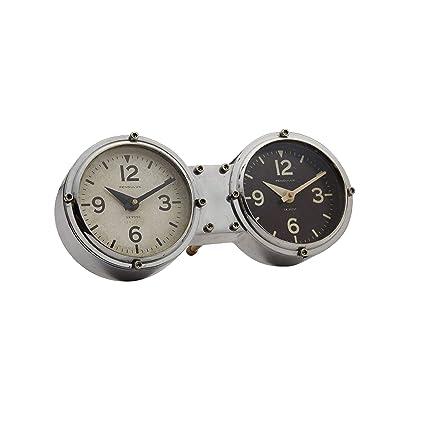Amazon.com: Mid Century Modern Time Zones Desk Clock   Table ...