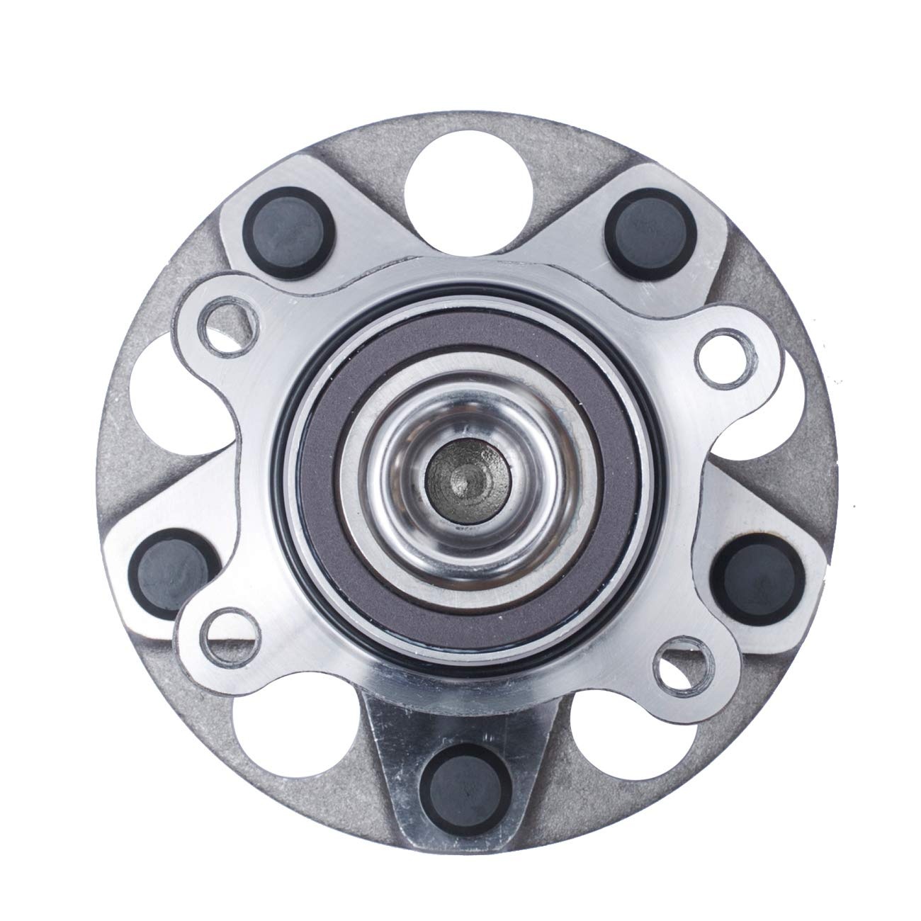 5 Lug W//ABS 512257 TUCAREST 512256 Rear Wheel Bearing and Hub Assembly Compatible 2006-2011 Acura CSX 06-11 Honda Civic