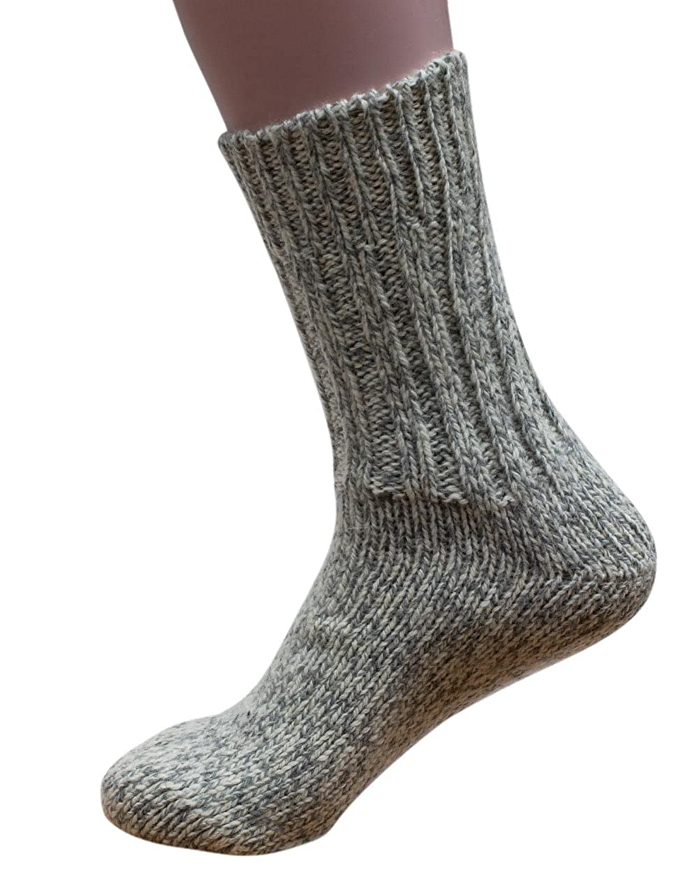 Hirsch Natur 100% Pure Wool Chunky Knit Ankle Sock