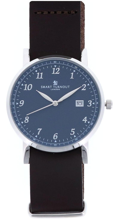 [スマートターンアウト]SMART TURNOUT 腕時計 3針 デイト STH5-BL/SS/BKSS メンズ 【正規輸入品】 B07C7N39RC