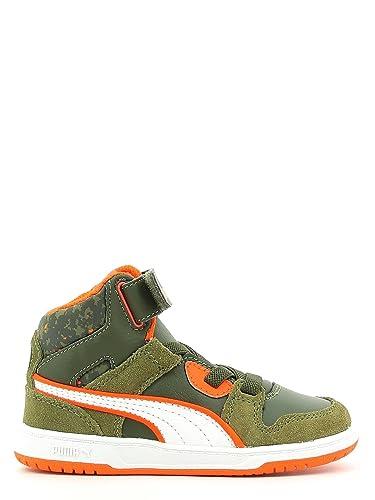 Chaussures Street Enfant Rebound Sneakers Garcon Puma Cuir Kds Mode OqwAHxwtv