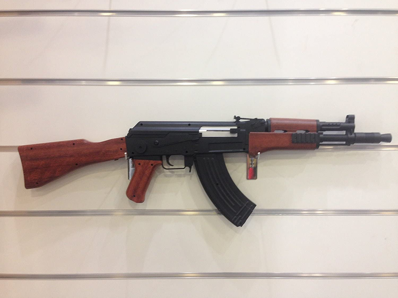 Cuchilleria Deportiva Arma Airsoft Larga Aire Suave 6 mm. Modelo Kalashnikov AK-47. Potencia 0,31 Julios - Arma para Airsoft con Cargador, Ideal Tanto para iniciados como para Veteranos.