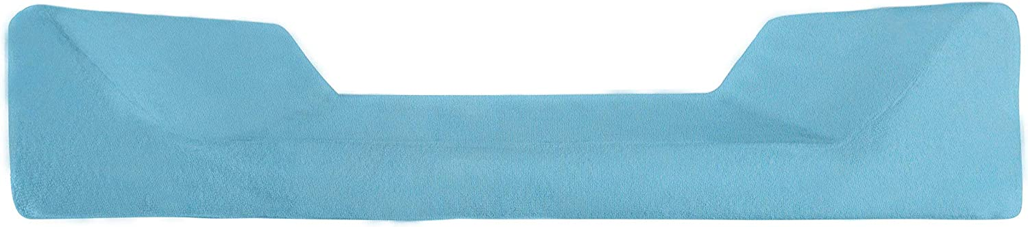 Set of 2 Absorbant Thick Baby Soft Blue Changing Mat Cover Terry Towelling