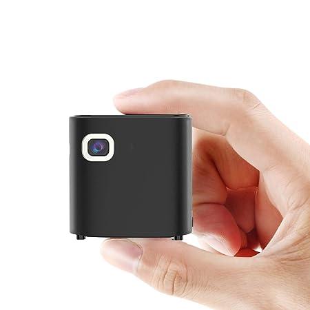 LIANGJING Mini proyector portátil 1080P HD Smart Projector 4K no ...