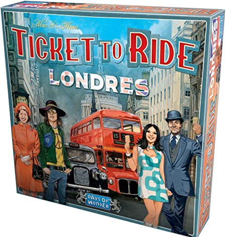 Days of Wonder-¡Aventureros al Tren Londres ES/PT, Color (DW722461ML): Amazon.es: Juguetes y juegos
