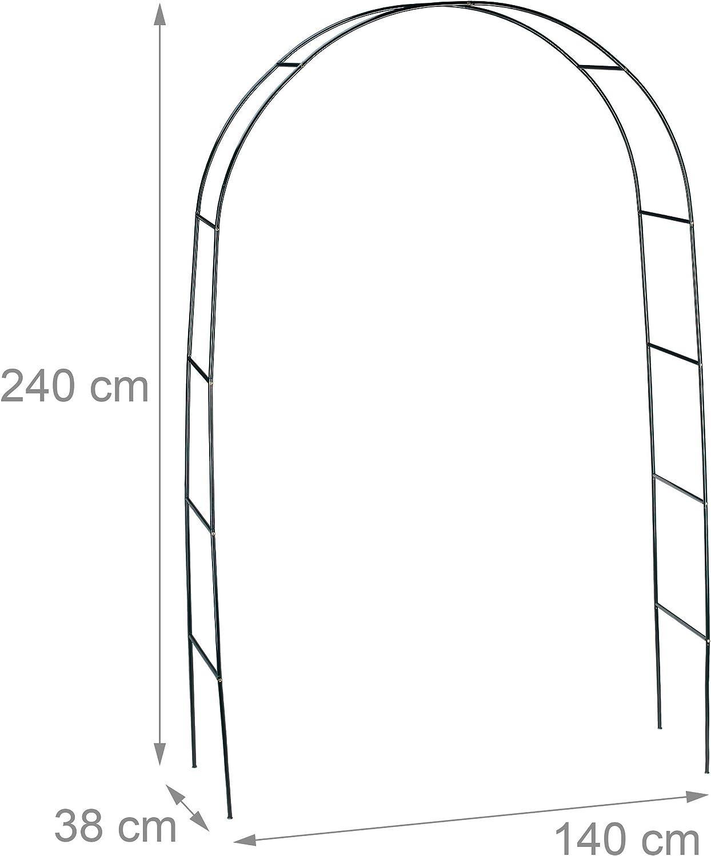 Relaxdays 10010020 - Arco de Metal para jardín Rosales: Amazon.es ...