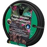 Bio Green Bewässerung Tropferschlauch, Perlschlauch, schwarz, 15m, Wassererspanis bis zu 70%, für Bewässerung von Pflanzenreihen und Beeten