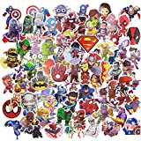 Stickers for kids(100pcs),Superheros Stickers for Water Bottles,Vinyl Stickers for Laptop Skateboard Luggage Decal Graffiti Patches Stickers in Bulk