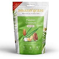 Amazin' Graze Pandan Coconut Nut Mix, Pandan Coconut, 100 g