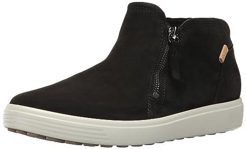 18e1f52e5bad62 ECCO Women s Soft 7 Low Cut Zip Fashion Sneaker  Buy Online at Low ...