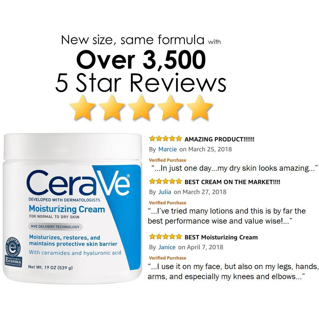 CeraVe Moisturizer Cream
