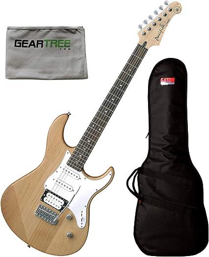 Yamaha PAC112 V HSS - Grifo de guitarra eléctrica con paño de ...