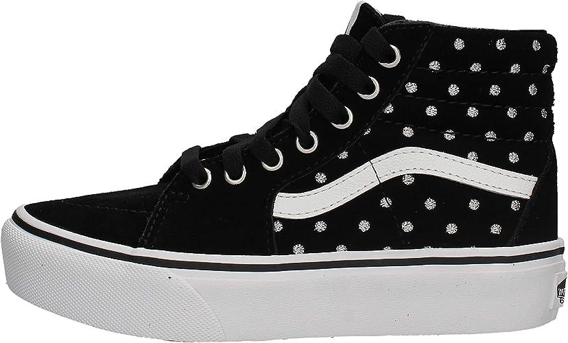 Vans SK8 HI Plataforma Size: 31.5 EU: Amazon.es: Zapatos