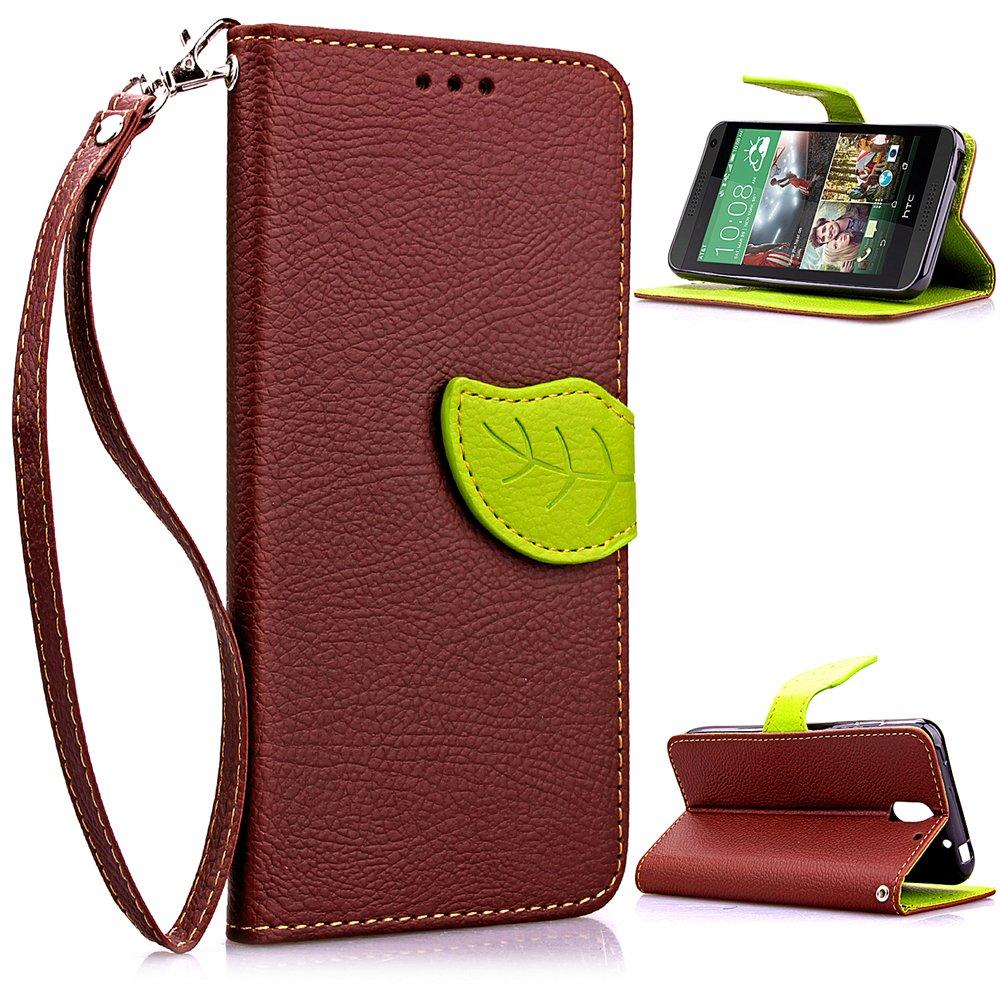 Compatible For HTC Desire 610 Wallet Funda,Carcasa PU Leather Cuero Flip Cover Hoja Cierre Magnético Función de Soporte Billetera Libro Tarjetas ...