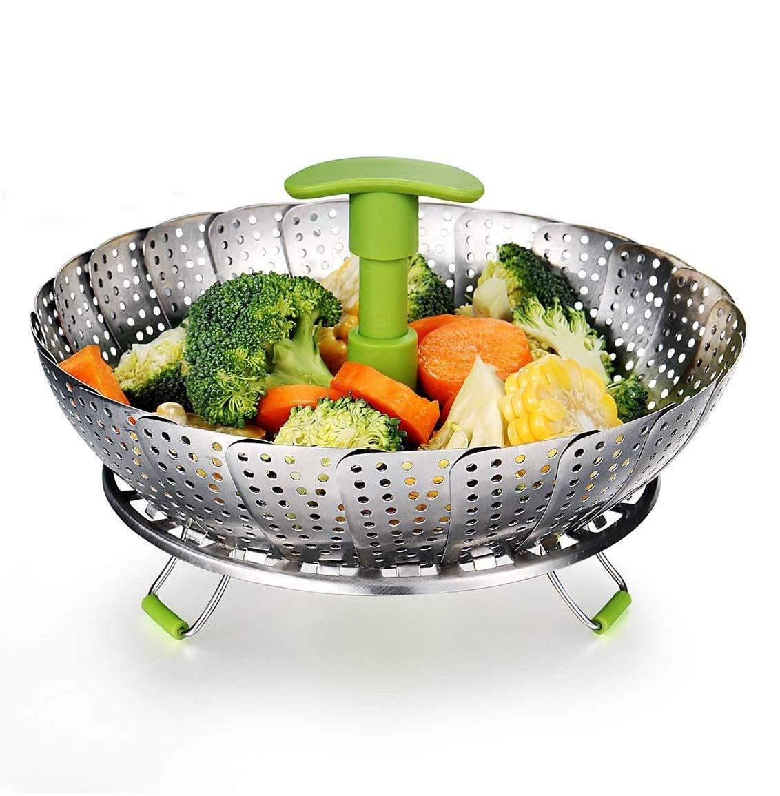 Stainless Steel Steamer Basket