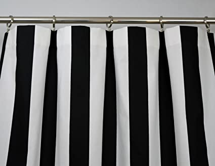 pbteen blackout white stripe emily the drapes and black drape meritt c products circus merritt