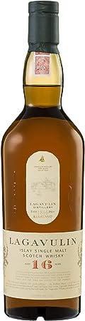 Lagavulin es el whisky puro de malta escocés de Islay rico e intenso,Ganador destacado de la medalla