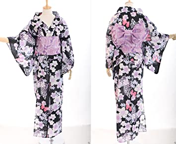 9ccb965056bf K - 40 fleurs femme oRIGINAL kimono japonais yUKATA oBI kawaii story- ceinture