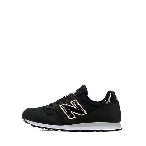 new balance mujer negro 373