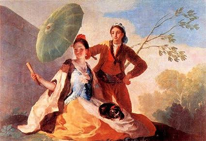 El Museo de salida – el paraguas de Goya – Póster en línea comprar de impresión
