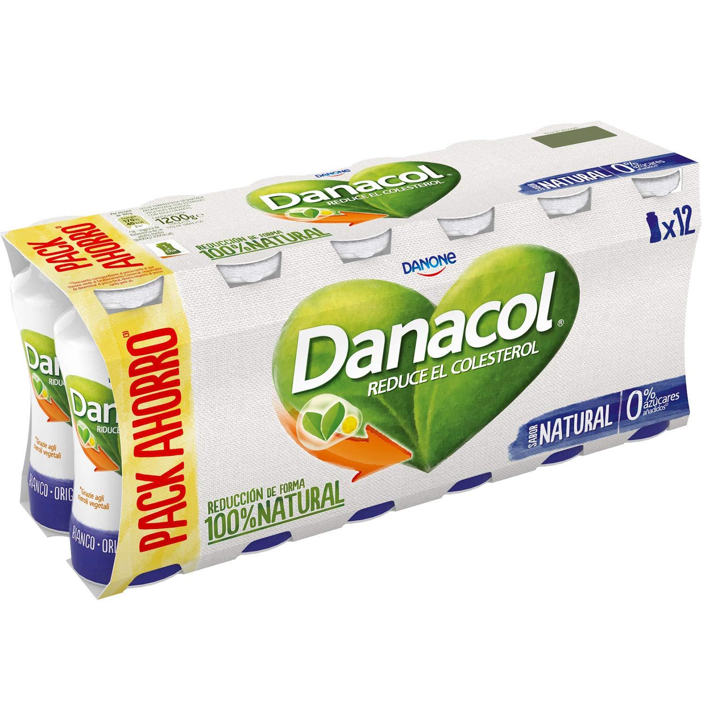 Danone Danacol - Paquete de 12 x 8.33 ml - Total: 100 ml ...