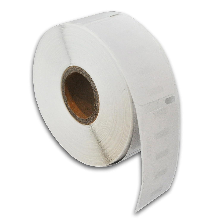 Compatibile per Dymo 99017 Termico Bianco Etichette di indirizzos Confezione da 5
