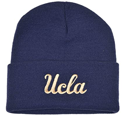 1aa91bc5503c9 Image Unavailable. Image not available for. Color  UCLA Cuffed Beanie Knit  Hat Blue