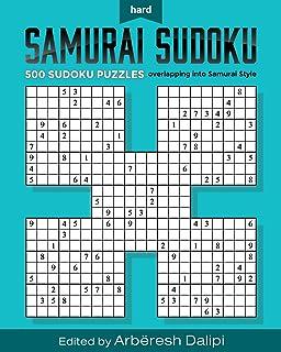 picture relating to Washington Post Sudoku Printable named Tremendous Quad Sudoku Samurai: Djape: 9781979466028: