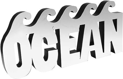 American Atelier Mirror Word Art, Ocean