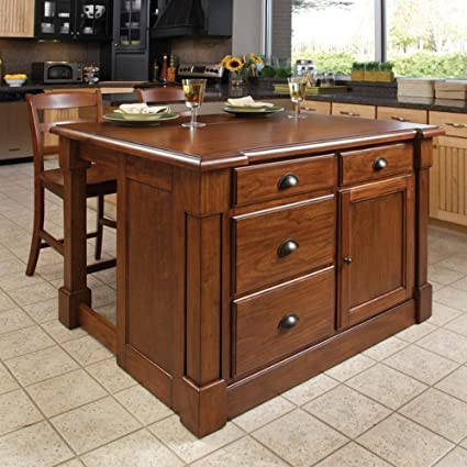 Home Styles Kitchen Island Set