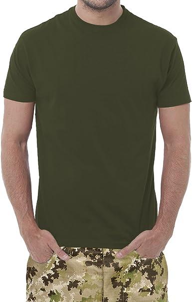 Fermento Italia Juego de 3 Camisetas de Color Verde Militar - Camiseta Unisex - 100% algodón - 150 Gramos - Modelo JHK. TSRA 150: Amazon.es: Ropa y accesorios