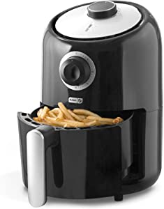 Dash DCAF150GBBK02 Compact Air Fryer Oven 2qt